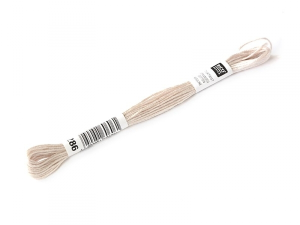 Stranded cotton skein (8 m) - beige (colour no. 453)