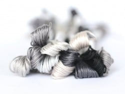Stranded cotton skein (8 m) - grey (colour no. 3024)