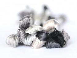 Stranded cotton skein (8 m) - black (colour no. 310)