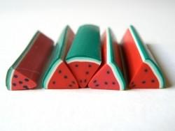 Melonencane in Form einer Viertelmelone mit großem Durchmesser