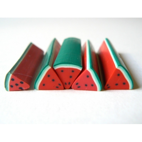 Watermelon cane - quartered and with a large diameter