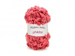 "Knitting wool - ""Poppy Phil"" - Pomegranate"