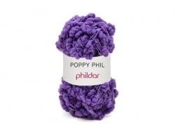 Laine à tricoter Poppy Phil - Violine