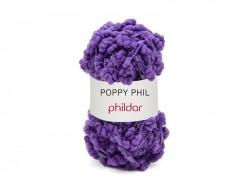 "Strickwolle - ""Poppy Phil"" - Rot-violett"