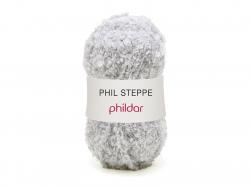 Laine à tricoter Phil Steppe - gris Galet