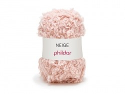 "Knitting wool - ""Neige"" - Pearlescent"
