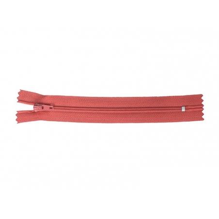 Fermeture éclair fine 15 cm - Rouge