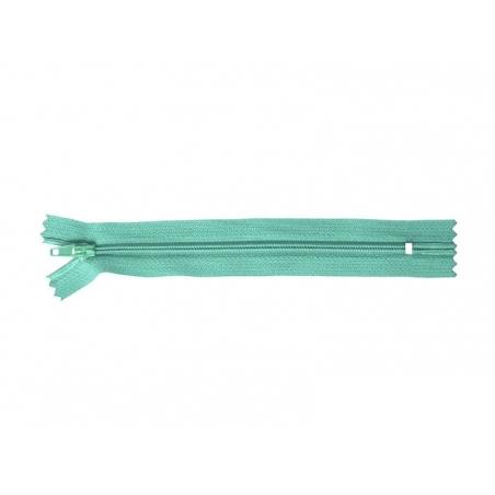 Fermeture éclair fine 15 cm - Vert sapin