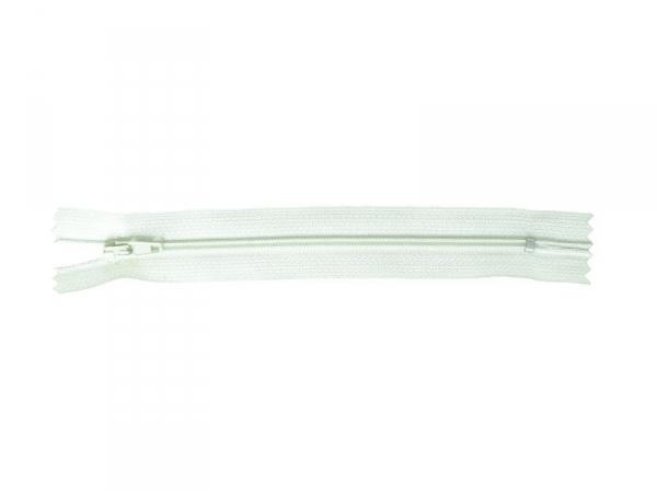 Thin zip (15 cm) - Light green