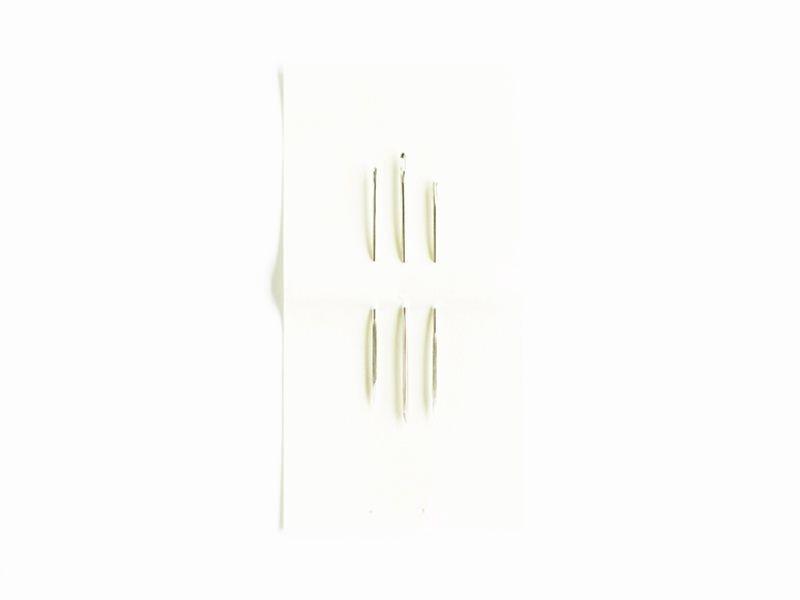 Acheter Assortiment de 3 aiguilles cuir à pointe triangle - 4,00€ en ligne sur La Petite Epicerie - 100% Loisirs créatifs