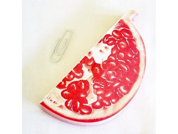 Acheter Bloc-notes en forme de fruit - GRENADE - 4,50€ en ligne sur La Petite Epicerie - Loisirs créatifs