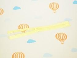 Thin zip (18 cm) - Yellow