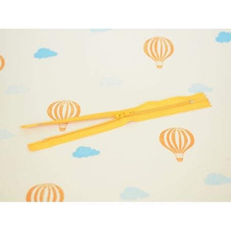 Thin zip (18 cm) - Orange