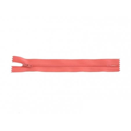 Fermeture éclair fine 18 cm - Rose bonbon