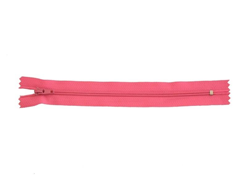 Thin zip (18 cm) - Fuchsia