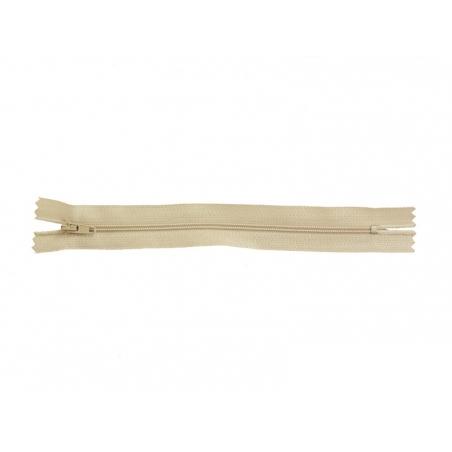 Fermeture éclair fine 18 cm - Beige