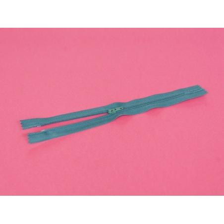 Thin zip (20 cm) - Teal