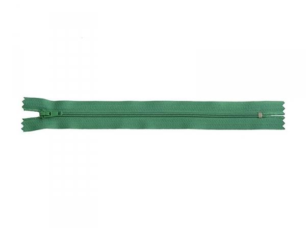 Fermeture éclair fine 20 cm - Vert sapin Mediac - 1