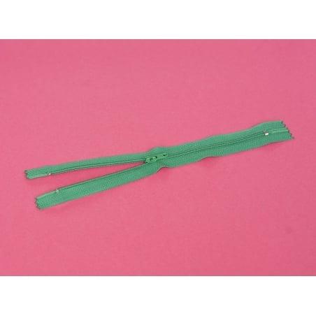 Fermeture éclair fine 20 cm - Vert sapin Mediac - 3