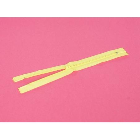 Acheter Fermeture éclair fine 20 cm - Jaune - 1,29€ en ligne sur La Petite Epicerie - Loisirs créatifs