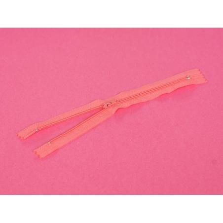 Thin zip (20 cm) - Candy pink