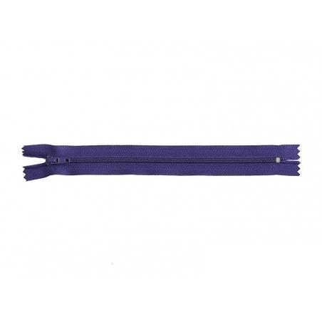 Fermeture éclair fine 20 cm - Violet