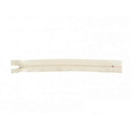 Thin zip (20 cm) - Off-white