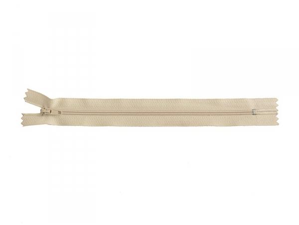Acheter Fermeture éclair fine 20 cm - Beige - 1,29€ en ligne sur La Petite Epicerie - Loisirs créatifs