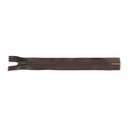 Acheter Fermeture éclair fine 20 cm - Marron - 1,29€ en ligne sur La Petite Epicerie - 100% Loisirs créatifs
