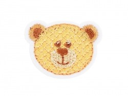 Iron-on patch - Bear head