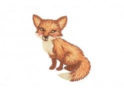 Iron-on patch - Fox