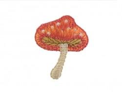 Iron-on patch - Mushroom