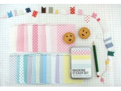 Masking Sticker Set - Version Pastel Masking Tape - 1