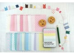 Masking Sticker Set - Version Pastel