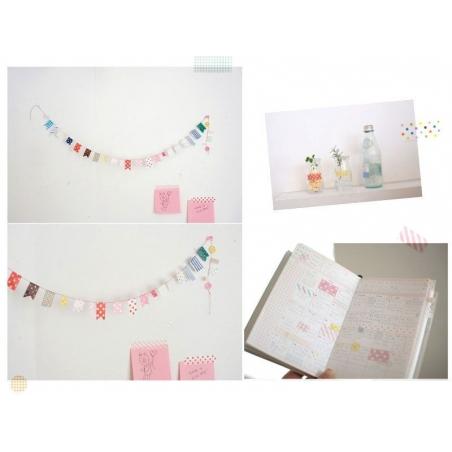 Masking Sticker Set - Version Pastel Masking Tape - 3
