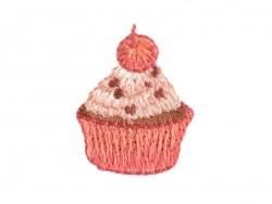 Acheter Ecusson thermocollant Petit cupcake cerise - 0,99€ en ligne sur La Petite Epicerie - 100% Loisirs créatifs