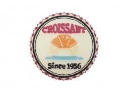 Ecusson thermocollant badge Croissant