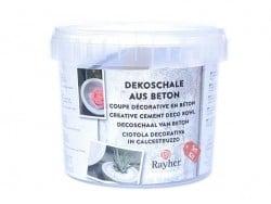 Kit de béton créatif - Coupe Rayher - 1