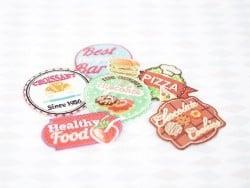 "Ecusson thermocollant badge ""Best Burger Bar"""