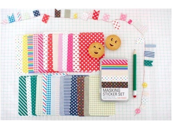 Masking Sticker Set - Version Pop Masking Tape - 1