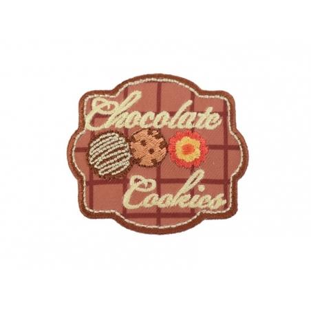 """Acheter Ecusson thermocollant badge """"Chocolate cookies"""" - 2,80€ en ligne sur La Petite Epicerie - Loisirs créatifs"""