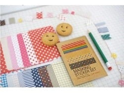 Masking Sticker Set - Version Pop Masking Tape - 3