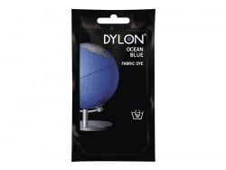 Teinture textile à la main - Bleu Azur 26
