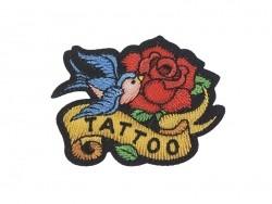 """Ecusson thermocollant tatouage - """"Tatoo"""" Mediac - 1"""