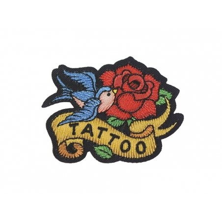"Iron-on patch - Tattoo design - ""Tattoo"""