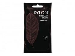Teinture textile à la main - marron chocolat 17