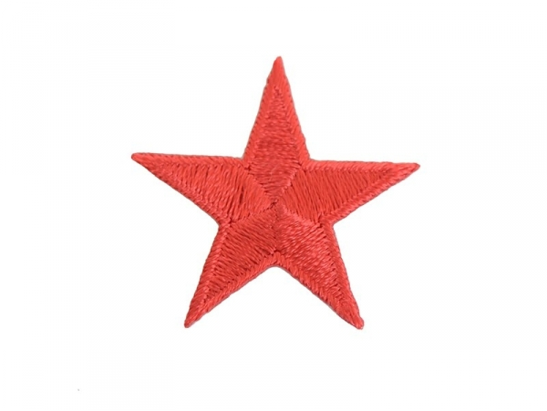 Iron-on patch - red star