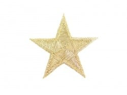 Iron-on patch - golden star