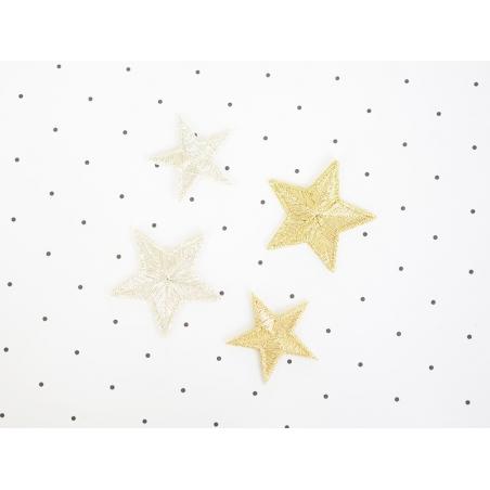 Acheter Ecusson thermocollant Grande étoile dorée - 0,99€ en ligne sur La Petite Epicerie - 100% Loisirs créatifs