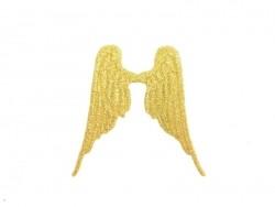 Acheter Ecusson thermocollant Ailes - doré - 1,39€ en ligne sur La Petite Epicerie - 100% Loisirs créatifs